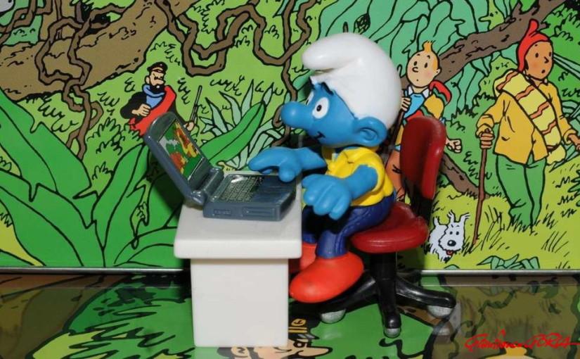 2010-11-10-afnews-Puffo-al-computer-con-sfondo-Tintin-foto-Goria-1024x680