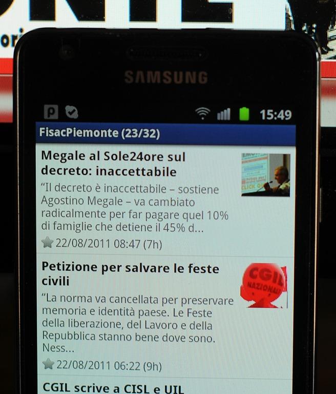 Le O Android Altre Piccole Licazioni Per Poter Ricevere Ultime Notizie Anche Quando Siete In Giro Iniziamo Con Quelle Aggeggi