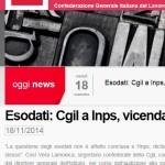 Esodati: Cgil a Inps, vicenda non conclusa