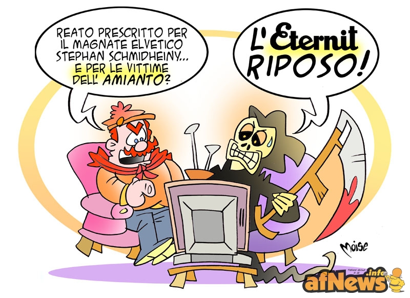 L'ETERNIT RIPOSO