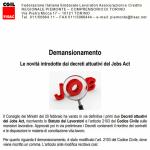 Demansionamento:  le novità introdotte dai decreti attuativi del Jobs Act