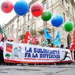 1° maggio 2015 a Torino: la FISAC c'è