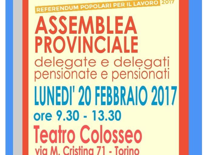 CAMPAGNA REFERENDUM: Attivo dei quadri sindacali di Torino e provincia