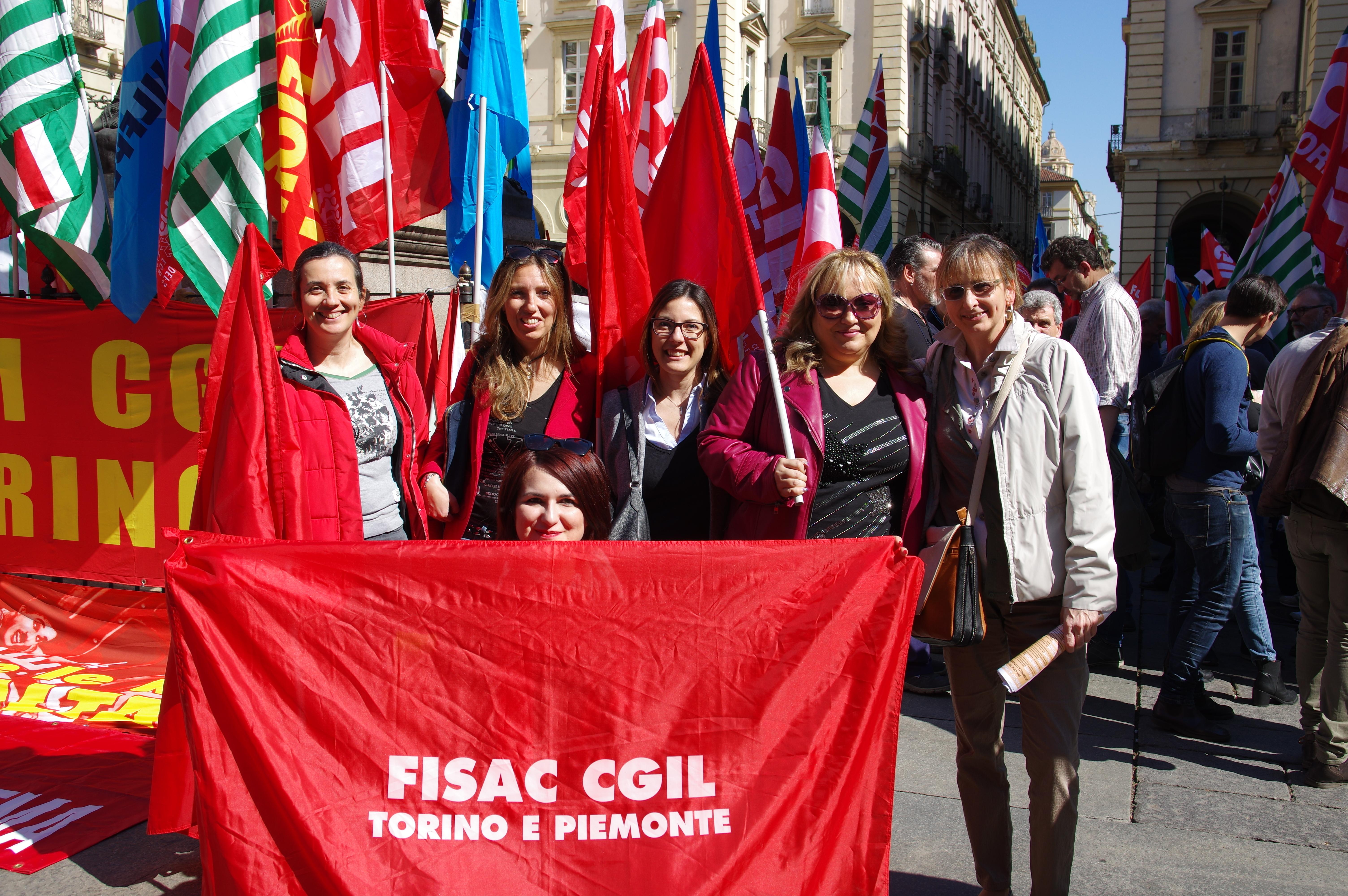 Sono on line tutte le foto del presidio di ieri a Torino!