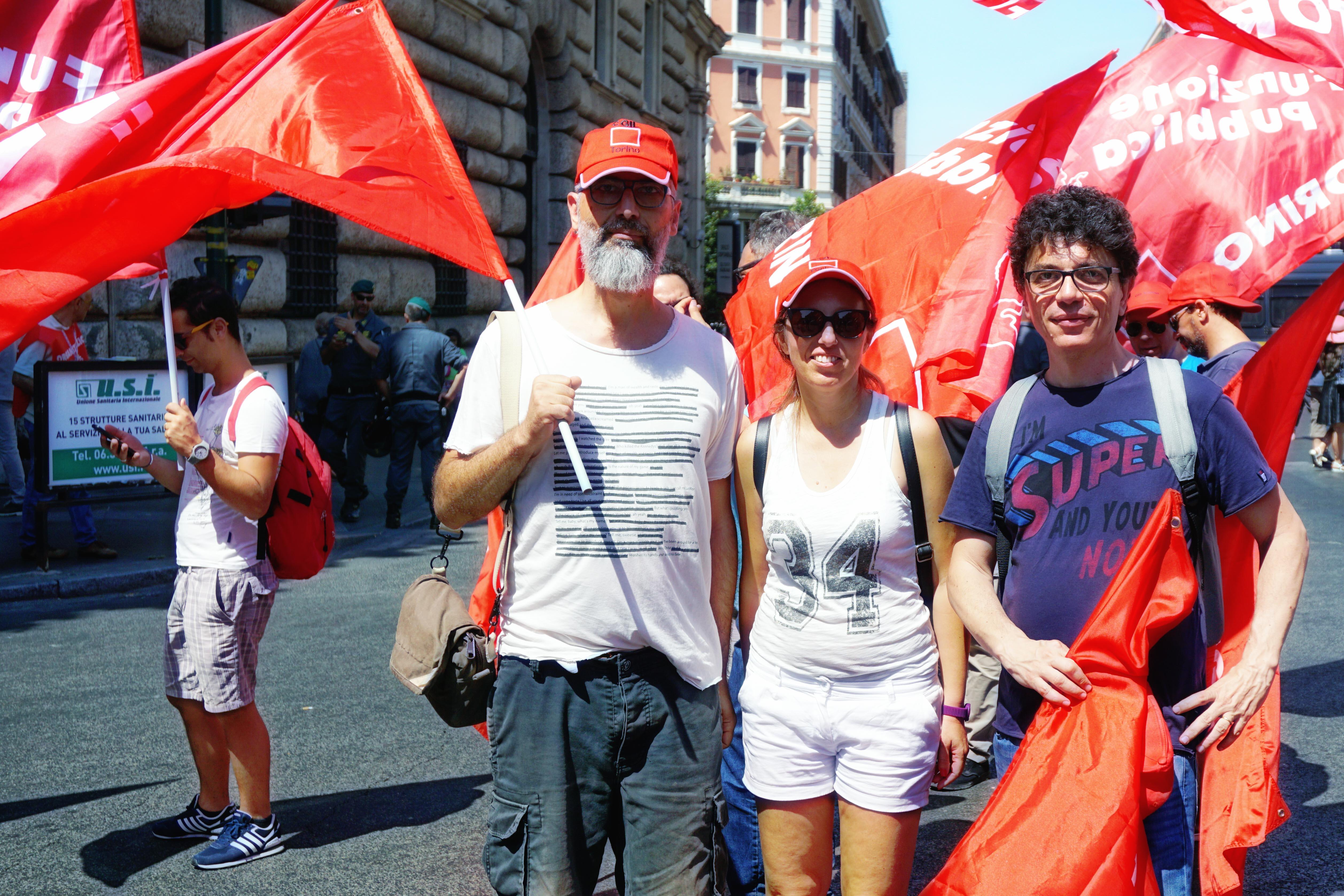 La Fisac Piemonte alla manifestazione di sabato 17 giugno!
