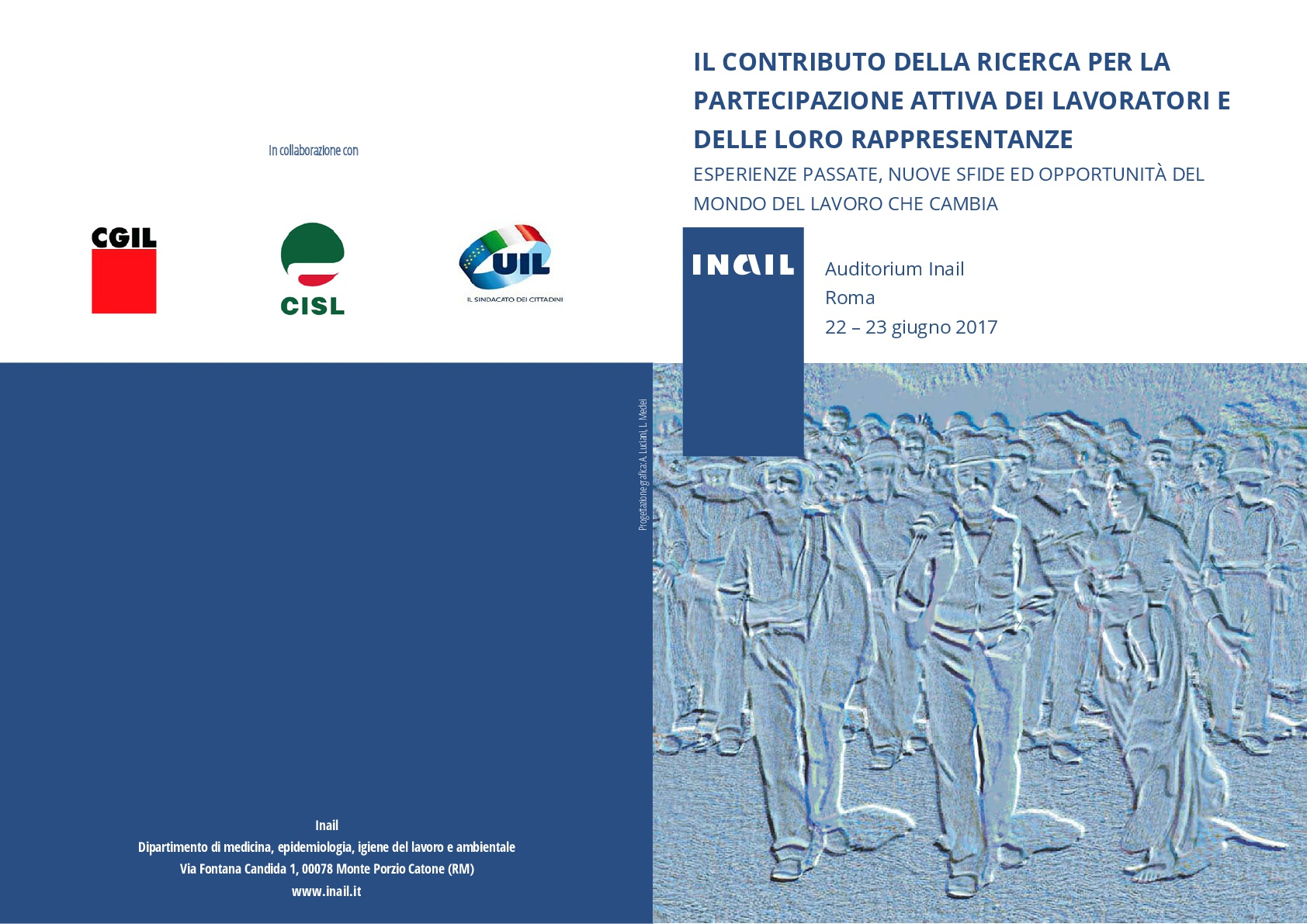 La Fisac Piemonte al Convegno Inail Salute e Sicurezza del 22-23 giugno 2017