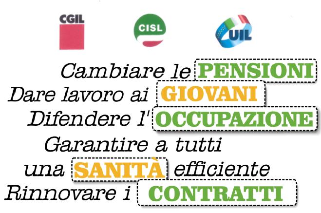 ASSEMBLEA DI PIAZZA UNITARIA CGIL-CISL-UIL 14 NOVEMBRE – GAM
