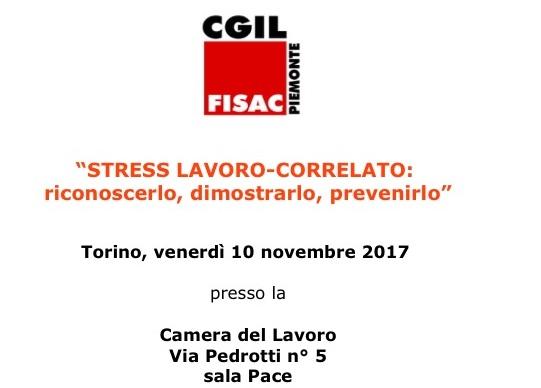 """Seminario """"La Rilevazione del Rischio da Stress Lavoro-Correlato: riconoscerlo, rilevarlo, prevenirlo"""""""