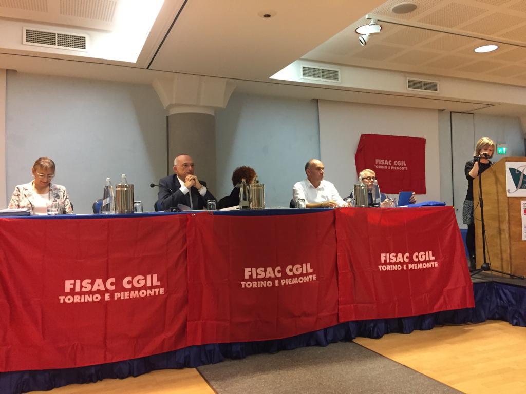 SECONDA GIORNATA DEL IX CONGRESSO FISAC CGIL PIEMONTE A TORINO ED ELEZIONE SEGRETARIO REGIONALE FISAC PIEMONTE.